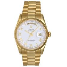 rolex president day date s yellow gold 118238 for sale
