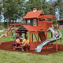 Kids Backyard Play Set by Best 25 Wood Swing Sets Ideas On Pinterest Outdoor Swing Sets