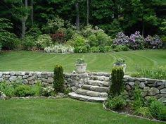 sunny landscape ideas stairs backyards and stone steps