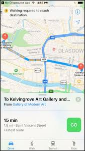 maps directions show directions in the maps app dropsource help center