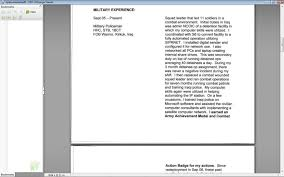 Resume Critique Online by Warrant Officer Resume Review Topic
