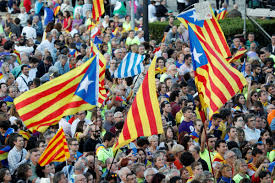 tensions heat up before catalan independence vote kuow news and