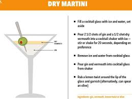 martini dry vermouth how to make a dry gin martini business insider