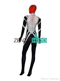 zentaihero 3d printing spider women suit silk cindy moon spider