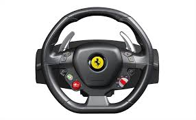 kereta ferrari amazon com thrustmaster ferrari 458 racing wheel for xbox 360