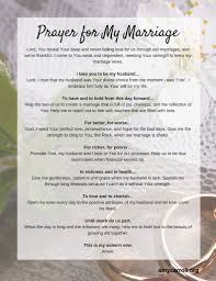 marriage prayers for couples a prayer for my marriage carroll
