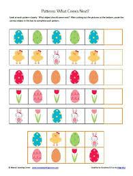 pattern math worksheets preschool 29 images of easter template for preschool linkcabin com