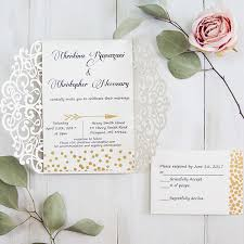 wedding invitation set affordable wedding invitations with response cards at