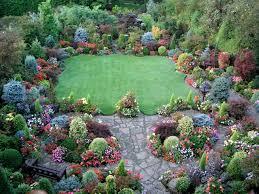 Shrub Garden Ideas Nicebo Of Open Space And Tight Groupings Perennials Shrubs Trees