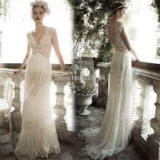 hippie wedding dresses boho hippie bohemian style v neck chiffon wedding