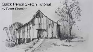 28 easy house drawing simple drawing of house sketching tutorial with pencil quick and easy techniques barn