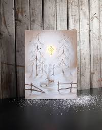 snowman lighted picture by radiance lighted canvas