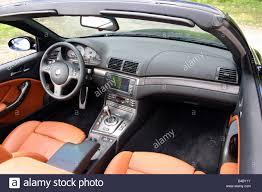 Bmw M3 Interior - car bmw m3 convertible model year 2003 black open top