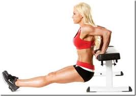 Triceps Bench Dips Top 10 Exercises For Toning Triceps Pageant Planet
