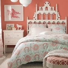Coral And Mint Bedding Coral Teen Bedding Foter