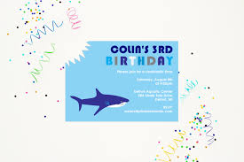 shark birthday party decorations u2014 505 design inc