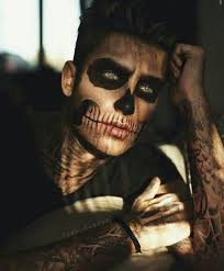 Cool Guy Halloween Costumes 25 Skeleton Makeup Ideas Pretty Skeleton