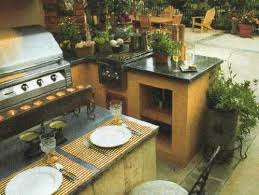 bbq kitchen ideas outdoor bbq kitchen islands spice up backyard designs and dining
