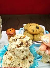 chocolate chip cookie crunch paleo ice cream sabrina u0027s sinless