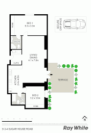 Canterbury Floor Plan by 3 2 4 Sugar House Road Canterbury Nsw 2193 Sold
