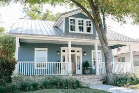 blue house white trim beautiful coastal blue exteriors the happy housie