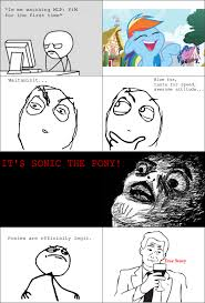 Meme Rage Comic - 418503 comic le meme rage comic rainbow dash safe sonic the