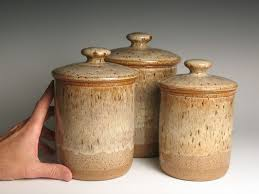 brown canister sets kitchen pottery kitchen canister sets kitchen kitchen
