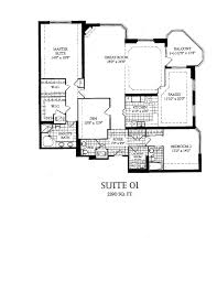 Master Suite Layouts Suite Layouts Palace Condos