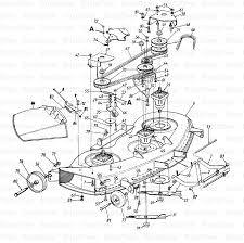 mtd 14as825h205 ranch king garden tractor 1998 deck h diagram