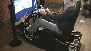 rocking chair converts to gaming chair racing rig go go review