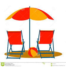 Clip Umbrella Beach Chair With Umbrella Clipart Collection