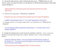 a pattern of shadow and light discuss and review how light travels and how it interacts with