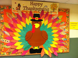 kindergarteners are thankful for thanksgiving bulletin board