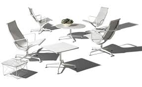 Patio Chair And Table by Eames Universal Base Outdoor Table 30