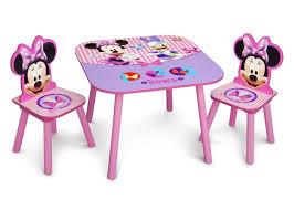 minnie mouse table set minnie mouse table chair set delta children