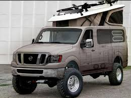 nissan caravan vx modified nissan is to showcase this modified version of its nv cargo van at