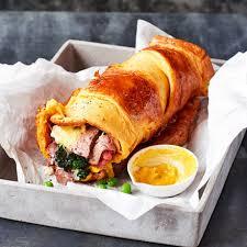 Alternative Sunday Dinner Ideas Yorkshire Pudding Wrap Recipe Bbc Good Food