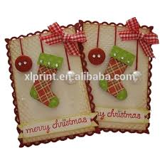 kids merry christmas greeting card handmade teachers day greeting
