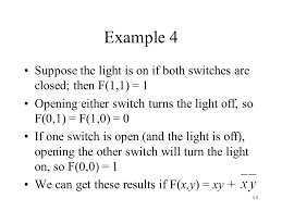 Turn The Light On Section 10 3 Logic Gates Ppt Download
