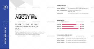 About Myself Resume The Ultimate Creative Pocket Resume By Jblinteractive Graphicriver