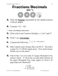 grade 4 fractions worksheet koogra