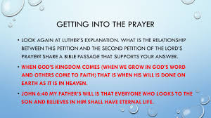 the perfect prayer ppt download