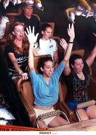 funny roller coaster face memey com