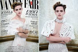 Vanity Skin On Skin Emma Watson Strips In Raciest Shoot Ever For Vanity Fair