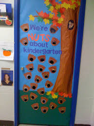 september door we u0027re nuts about kindergarten kindergarten