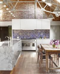 modern eclectic kitchen antique mirror barn renovation elle decor and kitchens