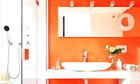 Brown Bathroom Accessories Stylist Brown And Orange Bathroom Accessories Orange Bathroom