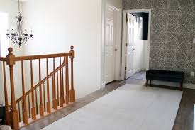 Replace Banister With Half Wall Tearing Up The Stairs Chris Loves Julia