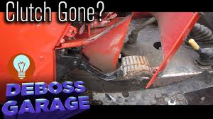 quickly repair a clutch in a zetor tractor youtube