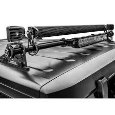 jeep light bar mount zroadz z394811 kit jeep wrangler jk rear window hinge led light